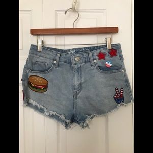 American Themed Shorts